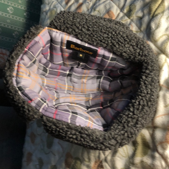 a2cb543d Barbour Accessories | Mens Fleece Lined Trapper Waxed Hat Nwot ...